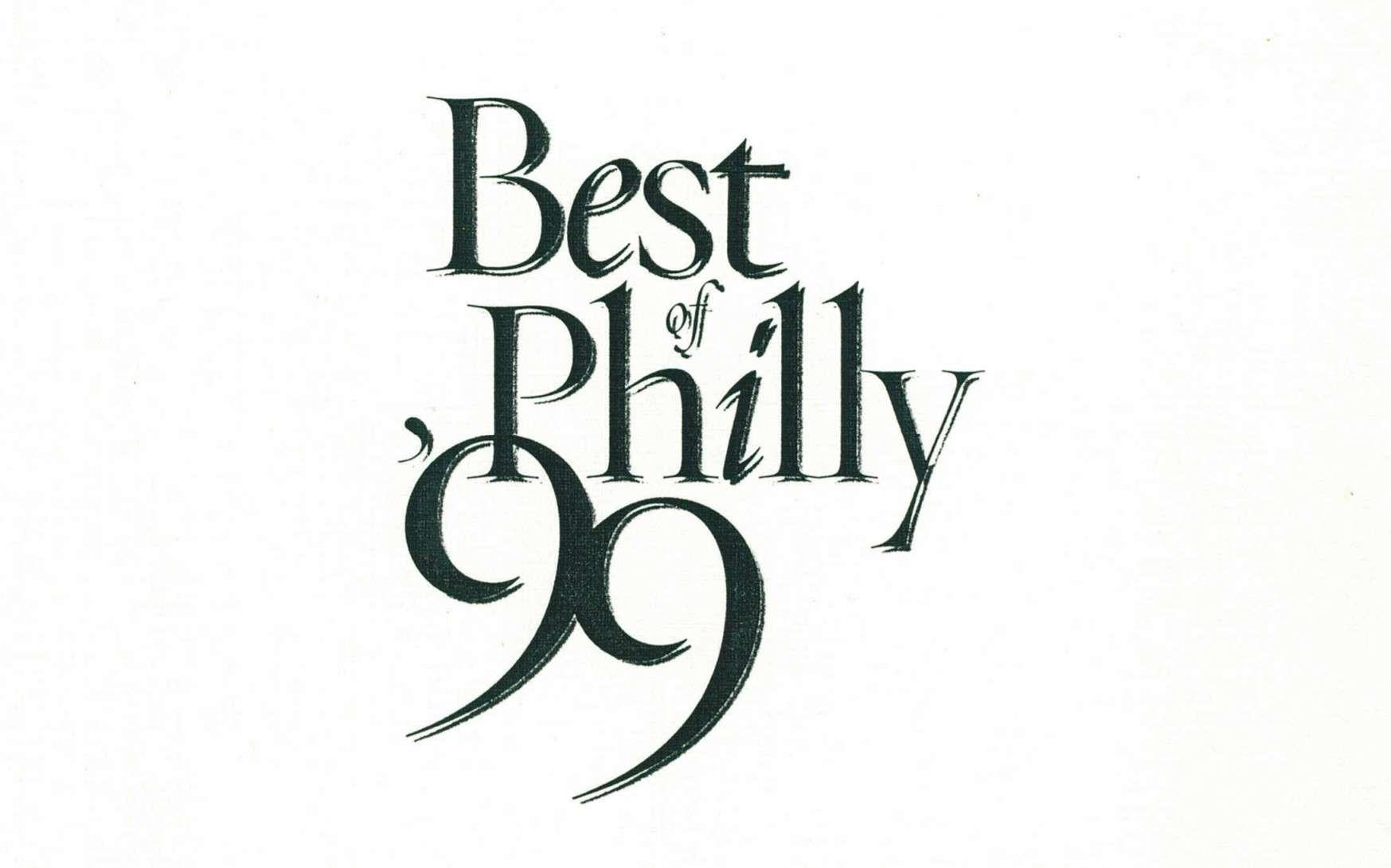 Philadelphia Magazine – Best of Philly '99